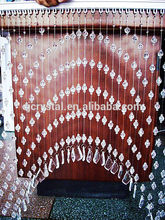Hecho a mano de la cortina de cuentas, artesanías de cristal cortinas, cortinas