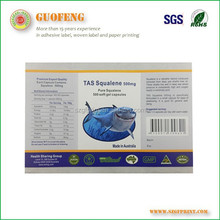 product description unique pre printed barcode labels glossy coated paper labels