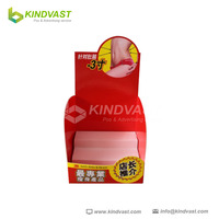 advertising cardboard countertop display for fitness products