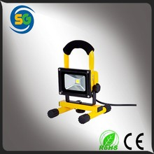 2015 high lumens waterproof epistar rechargeable led miner light, cob 10W rechargeable led light