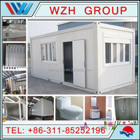 low cost prefab container house / prefabricated eps houses / prebuilt container houses
