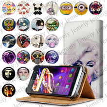 """Fashion For Explay Blaze 5.5"""" Universal Jemeiy Original Cover Bags With Card slot Wallet Flip Stand PU Leather case"""