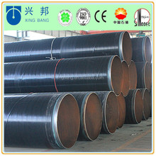 api 5l spiral welded natural gas pipeline and oil pipe with hdpe coating