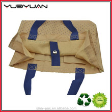 2015 China Wholesale Offer Standard Size Foldable Top High Quality Canvas Tote Bag