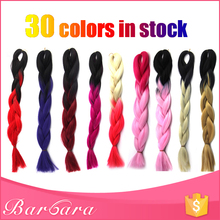 Cheap Ombre X-pression 100% Kanekalon Ultra Braid Hair Made Of Synthetic Fiber Wholesale Price