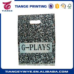 Plastic Shopping Bag With Color Printing