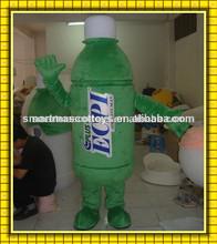 una buena visión de ventilación de alta calidad botella de traje de la mascota de la botella para adultos de la mascota