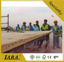 polyurethane decoration beams,laminated lvl poplar/pine/birch plywood,40mmx225x3900mm lvl beam board