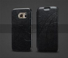 For Samsung Galaxy S6 Pu Case Leather,Cheap Mobile Phone Leather Case For Samsung Galaxy S6