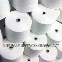 100% kniited de algodón mezclado hilos de extremo abierto cardado y peinado hilado para tejer y tejer