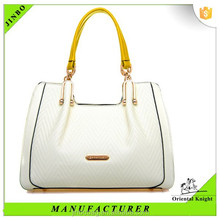 Alibaba suppliers pure women genuine leather bag in China