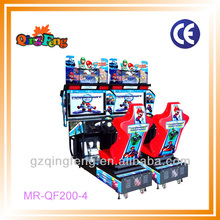 Top sale 32 LCD Mario racing 2 MR-QF200-4 coin operated indoor hot sale japan race cars machine