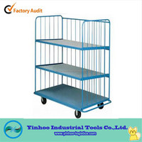 folding/foldable table trolley /cage trolley material handling equipment