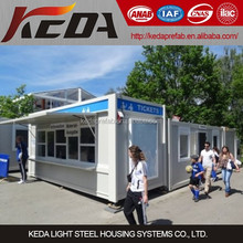 Events Service Station / Ticket Office Container Kiosk / Booth 00338(3)