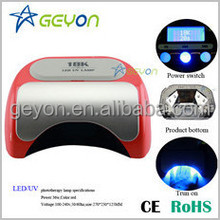 2015 Newest Design Pro 48w/36w nail polish and dryer uv gel machine
