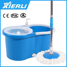 2015 360 degree Spinning Dry Mop Magic Mop Rotation Spin Dry Pedal Free 2 Mop Head