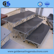 adjustable aluminum portable stage for sale