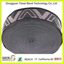 design a righe con cinghie di tela jacquard elastico per bretelle e cinture