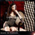 ثلاثة الأكمام الربع taiwna مصنع ملابس داخلية مثيرة سوداء المرأة الناضجة