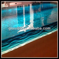 40mm unique glass extra long coffee tables
