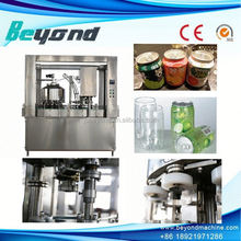 carbonated soft drinks canning machine