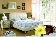 natural latex mattress plastic spring mattress manufacturers (DK-M458)