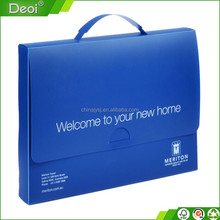 hot new products in Alibaba pp plastic blue color document case with handle