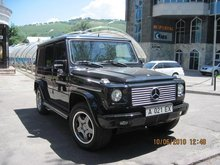 Mercedes Benz G55 AMG Armoured B6+