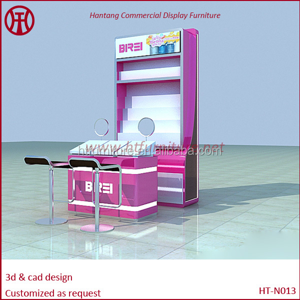 Nail Kiosk 5x3m For Display In Mall - Buy Manicure Kiosk,Nail Bar ...