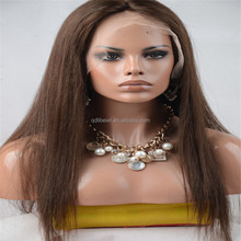 2015Cheap Real Hair 100% Remy Blonde Human Hair Full Lace Wig