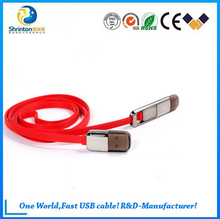 King kong 2 IN 1 usb multi charger data cable for sync date and charging andriod smartphone