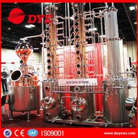 hot sale copper XO brandy distillation equipment