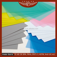 2014 New plastic products pvc extruded sheet