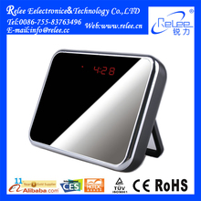 Mirror Digital Clock Hidden Camera with Motion Detection HD 1280x960 Mini DVR Clock Camera