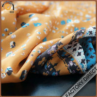 Digital print custom cotton curtain voile fabric for garments