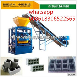 Dongyue qt4-24 flyash brick making machine cost