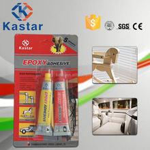 Industrial ISO14001 approved Anti-solvent epoxy glue for wood