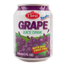 T'best Fruit Juice Drink with Pulp_238ml_Grape