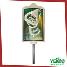Outdoor Fiber glass curved shape street signs