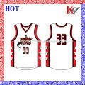 sublimación profesional del baloncesto europeo diseño de uniformes