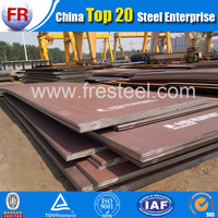 Low alloy st52-3 din 17100 high tensile steel plate