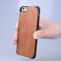 2015 Original Combo Wooden & PC Protective Case Cover for iphone wood case wholesale alibaba