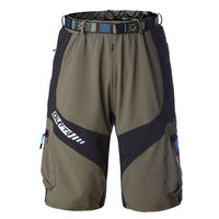 OUTTO #1406 quick dry men's mountain bike shorts with belt M-3XL