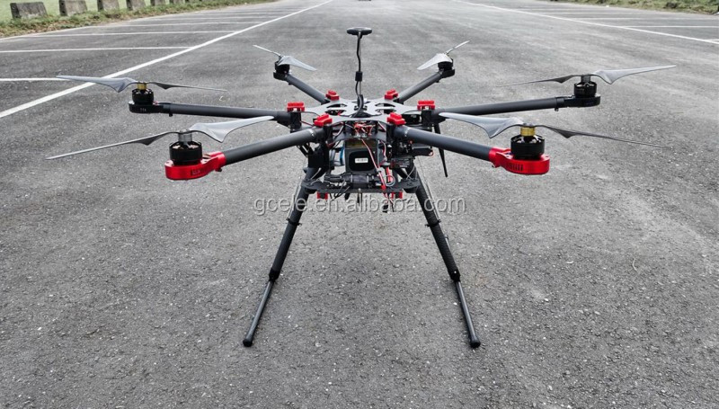 New Design Carbon Fiber Rc Hexacopter Drone Multirotor Helicopter