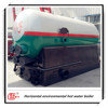 Fixed grate low coal consumption hot water boiler