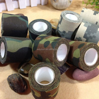 army insulated cotton self adhesive tape camo camouflage fabric tape
