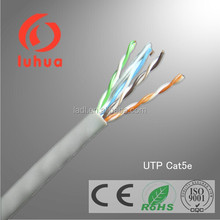 8 Number of Conductors and Cat 5e Type UTP Cat5e cable with messenger and power