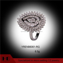 China factory wholesale 925 sterling silver ring models women ring