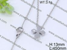 jewelry display marbling enamel square linked silver platting necklace jewelry