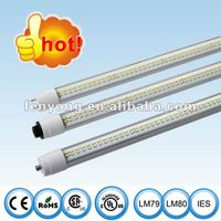 UL led T8 tube HO R17D rotatable end cap